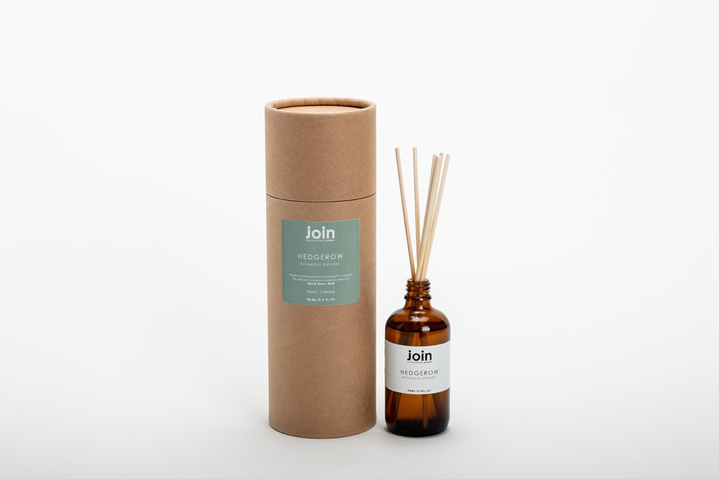 Join Handcrafted Botanical Reed Diffuser - Hedgerow
