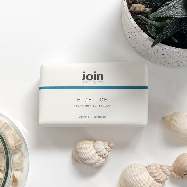Join Handcrafted Vegan Shea Butter Soap.