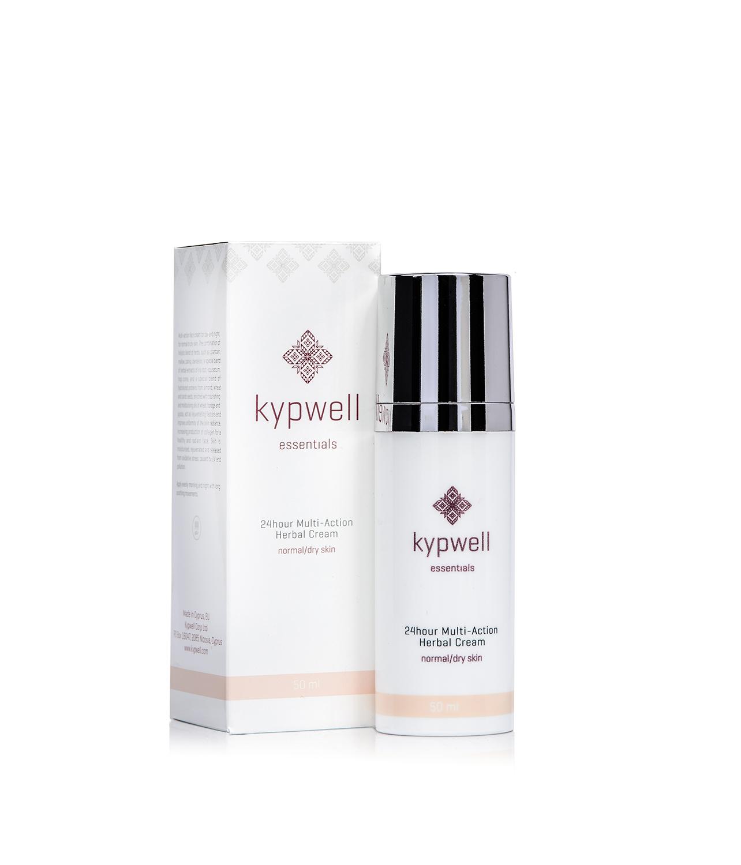 Kypwell 24 Hour Multi-Action Herbal Cream. Natural, Organic, Vegan and Cruelty Free