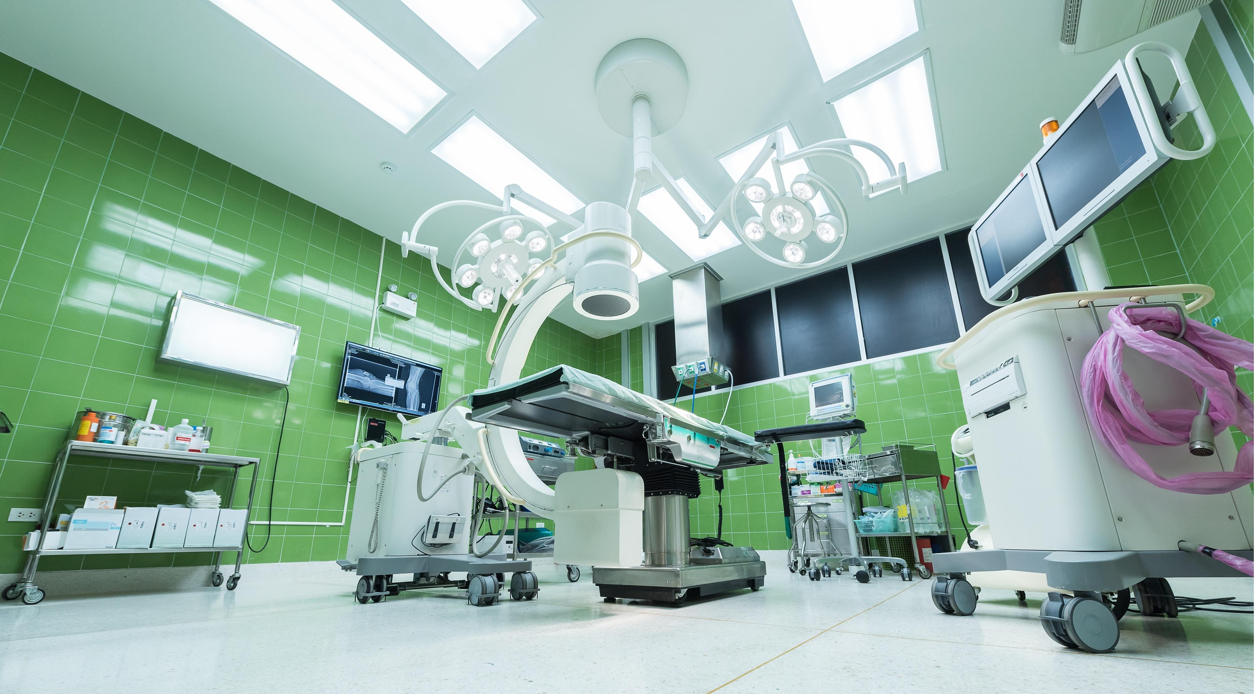 Čisticí prostředky pro nemocnice a pečovatelská zařízení