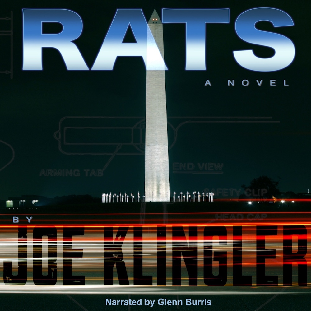 RATS audiobook available April, 2020
