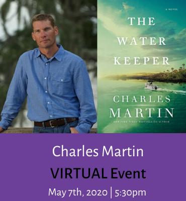 Charles Martin virtual event