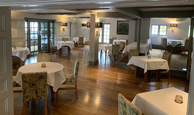 Proposed increased spacing between tables