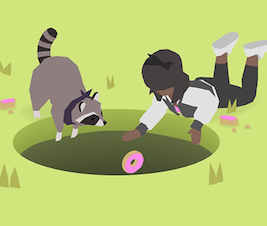 Preview graphic for Donut County