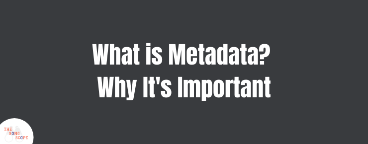 Music Metadata - Why It Is Important