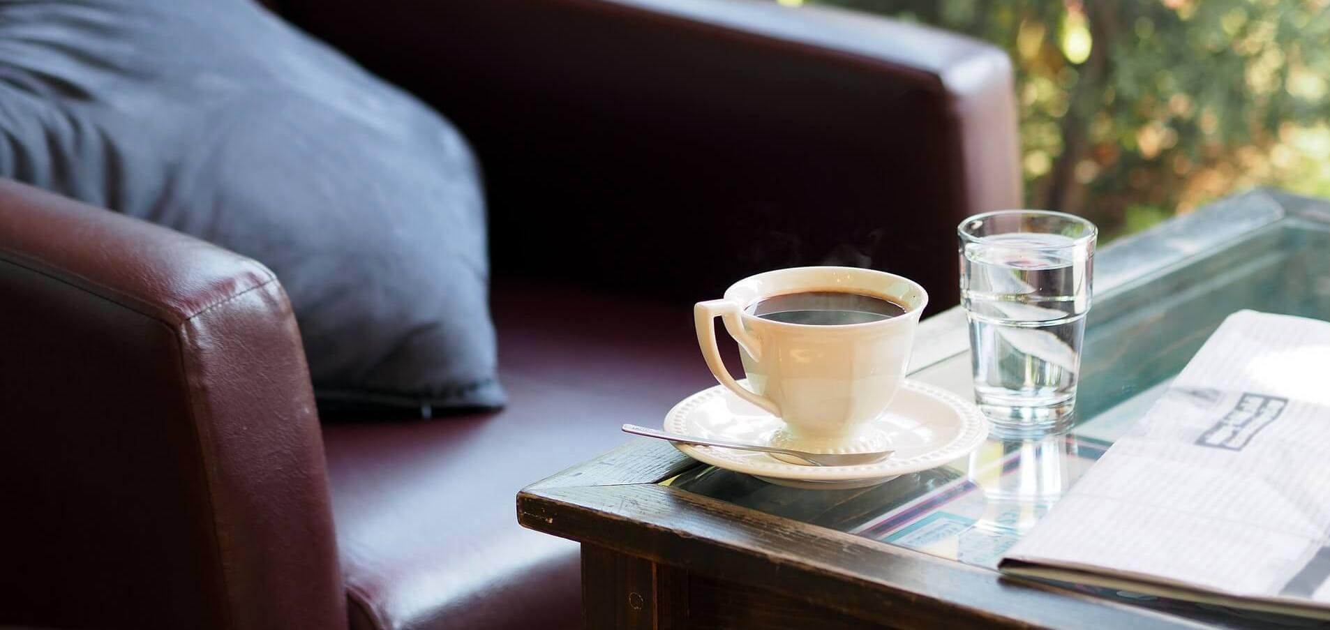 przepływy pieniężne przy kawie