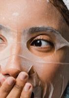 masque beauté tissus