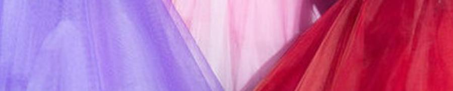 tulles de couleur