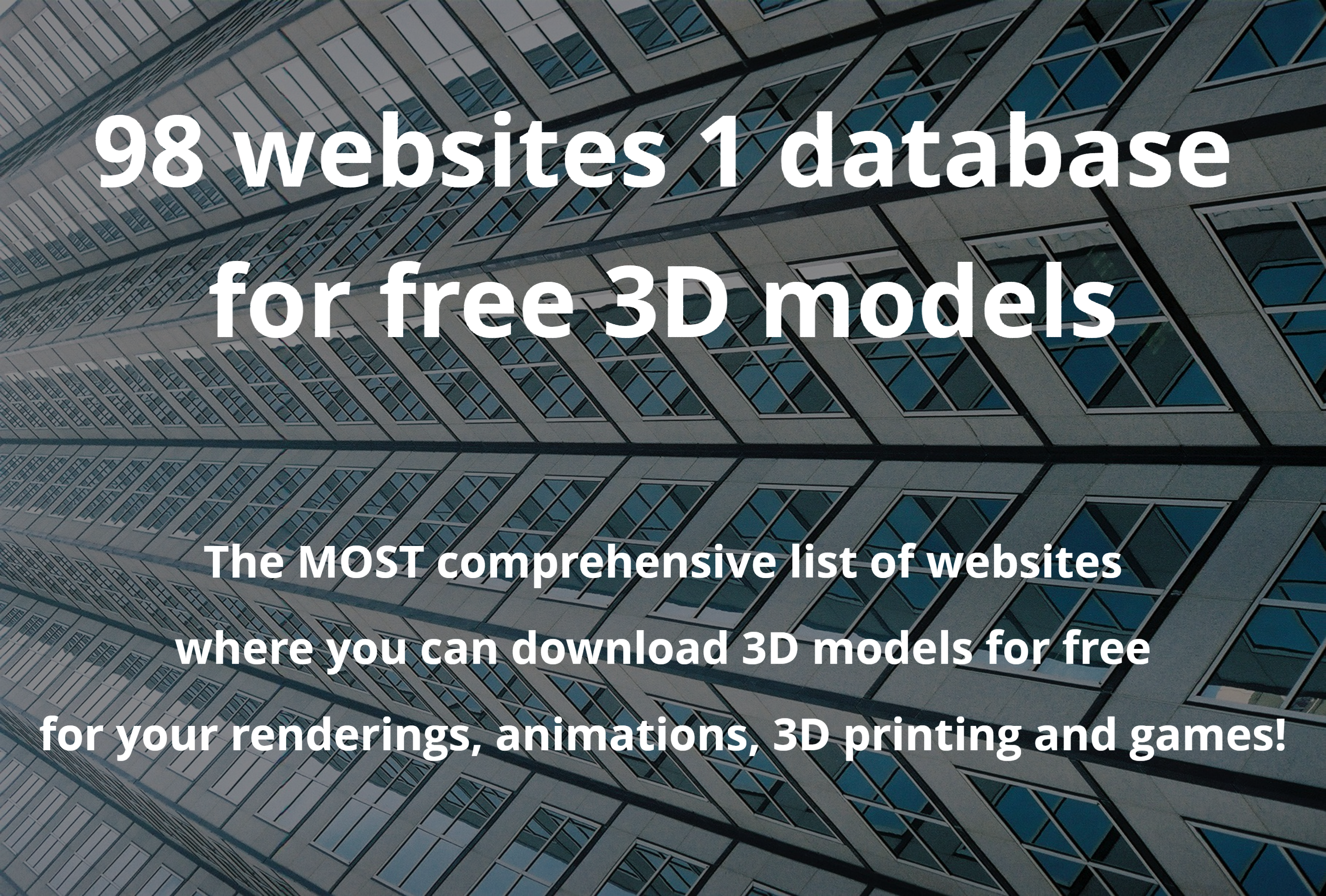 96 websites 1 database