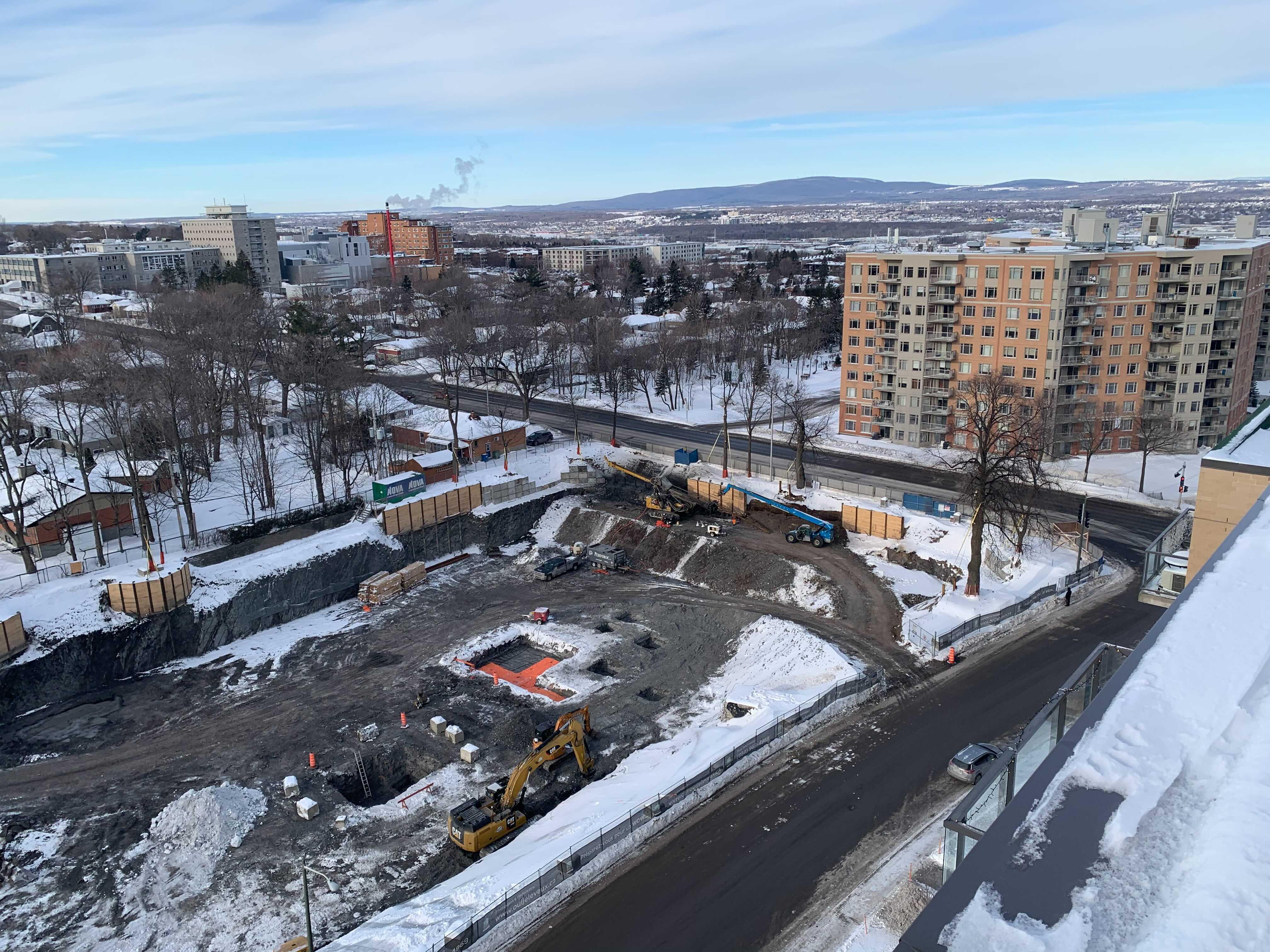 2021-01-19 - Progression du chantier