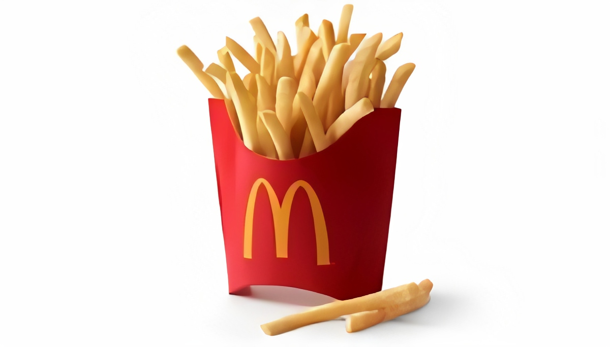 high quality and enlarged picture of french fries
