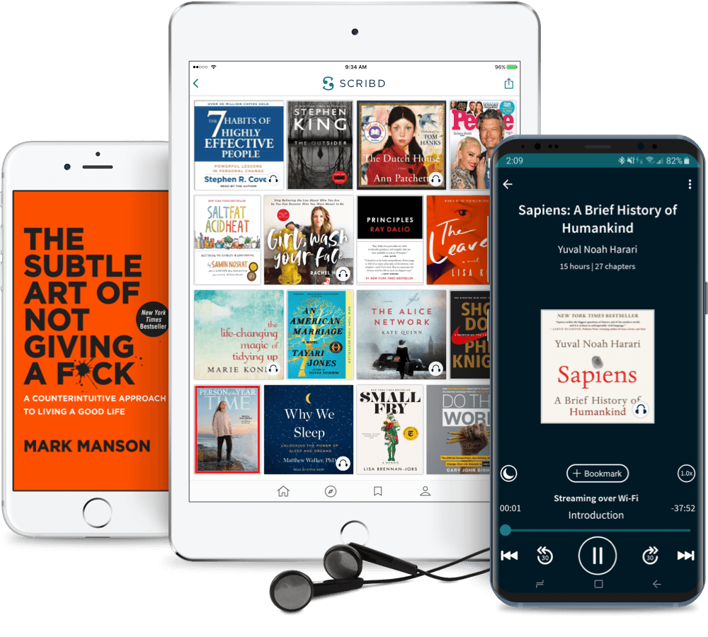 Scribd on different devices
