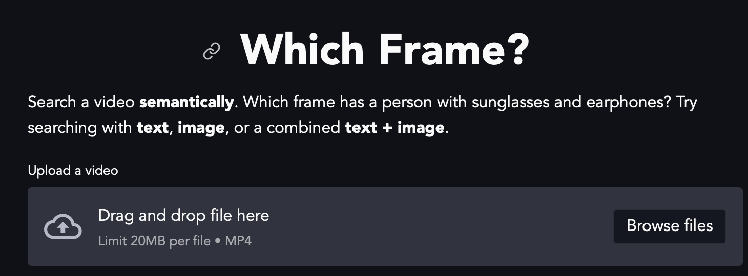 Which Frame