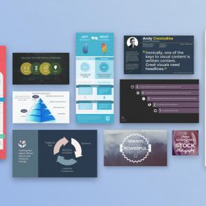 Sample Visme presentations