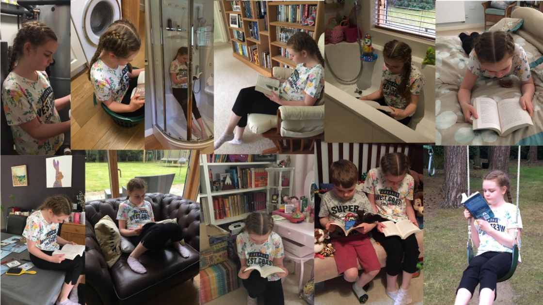 Sharing the Love of Reading from 3-16 years!
