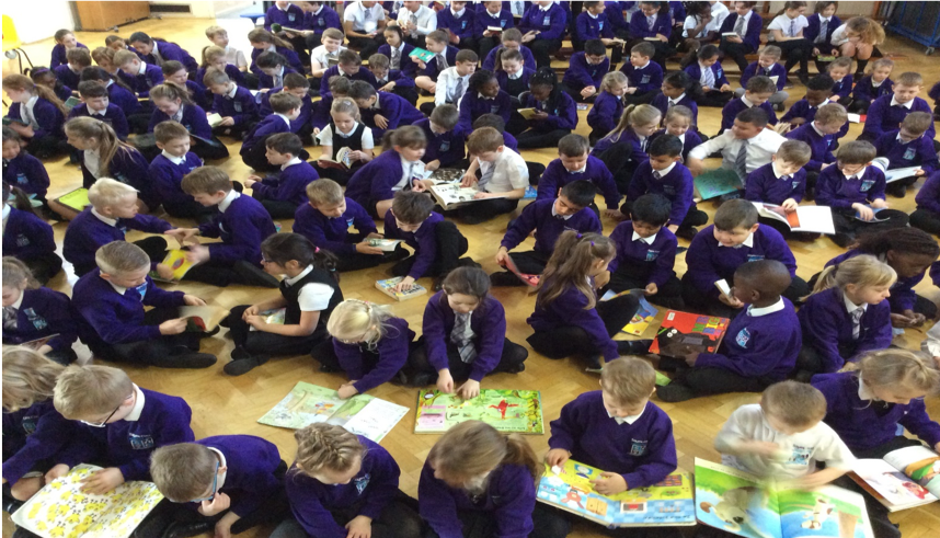 Laying the foundations of Reading for Pleasure