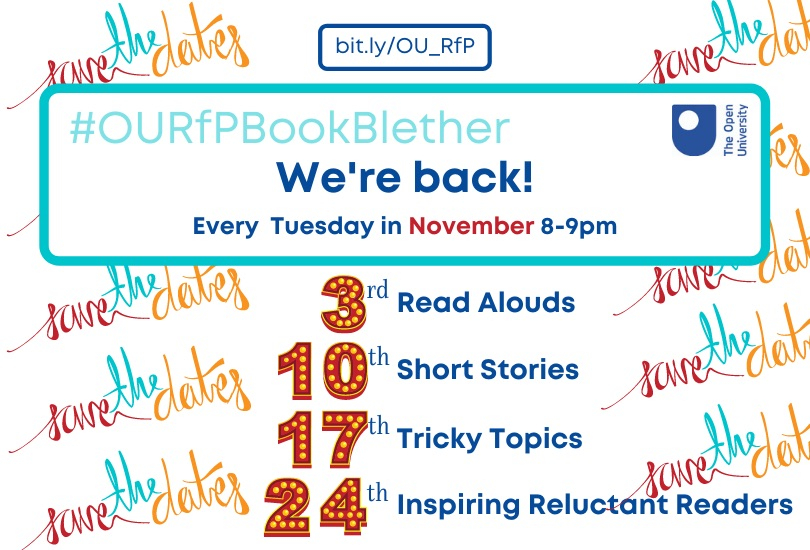#OURfPBookBlether Returns!!