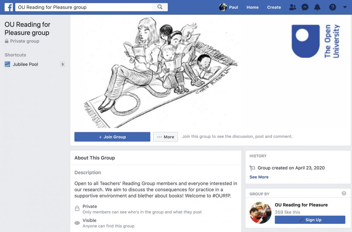 New OU RfP Facebook