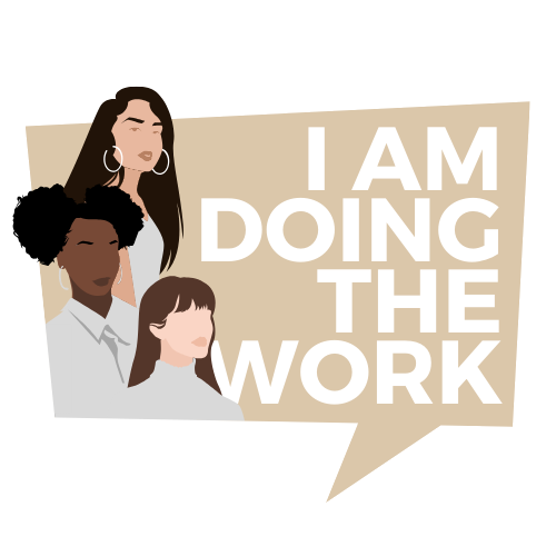 I am doing the work logo
