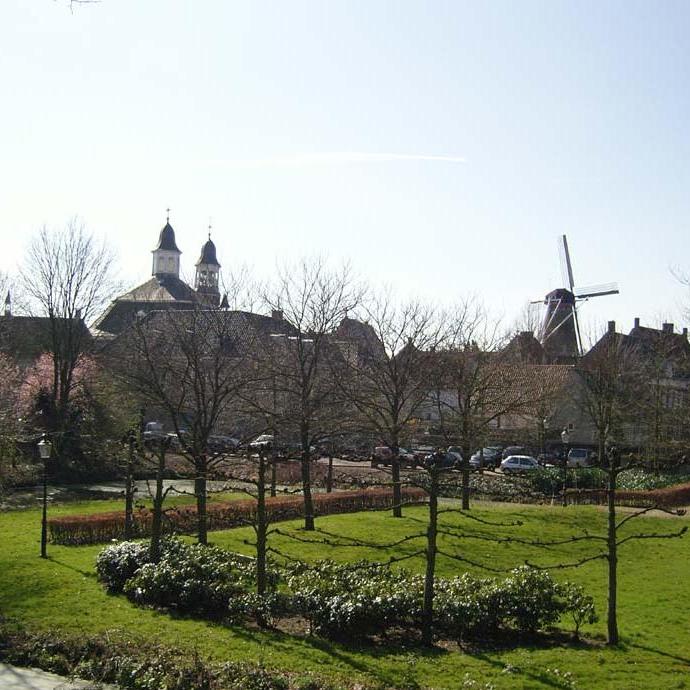 Foto fietsen rondom Willemstad