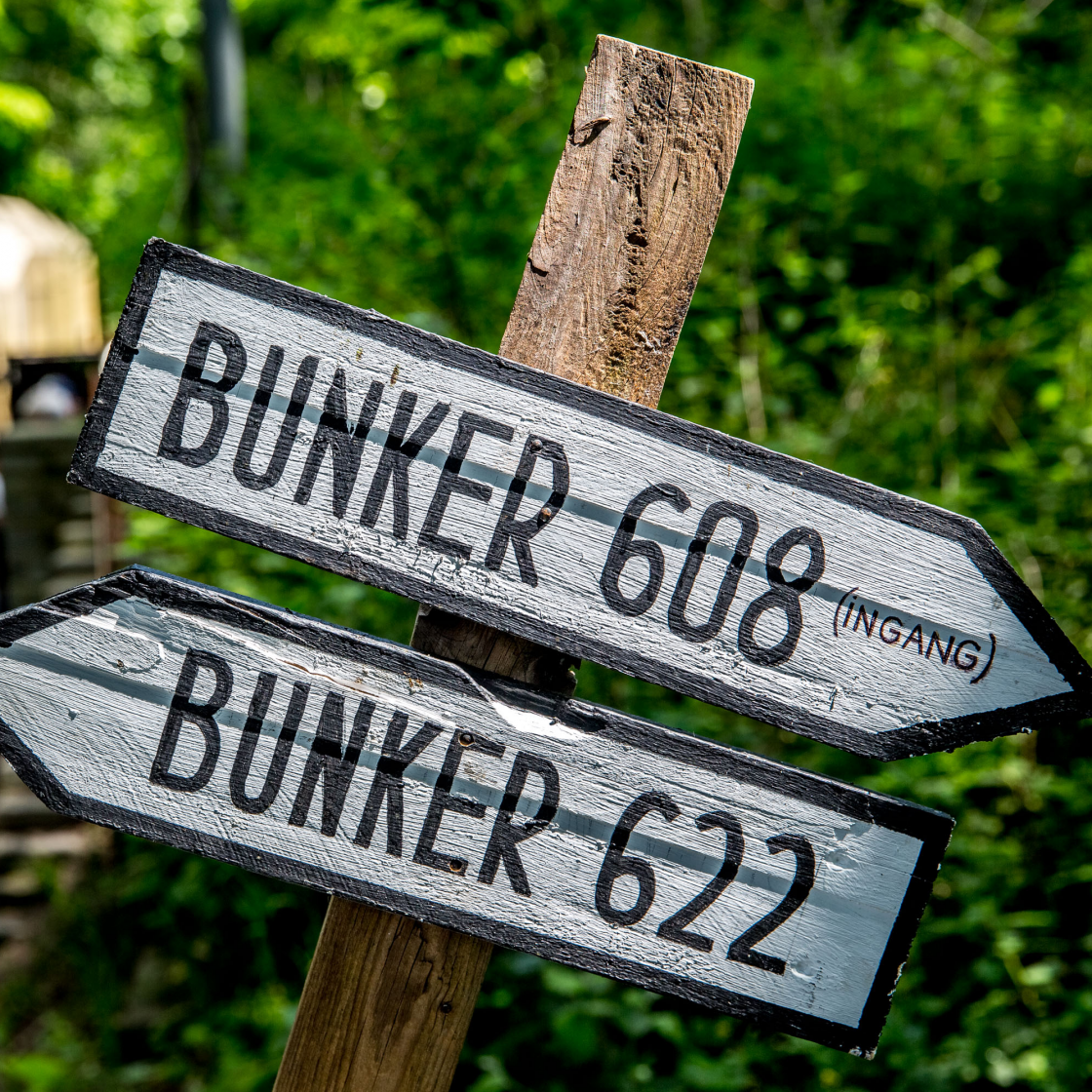 Foto verborgen bunkers Atlantikwall