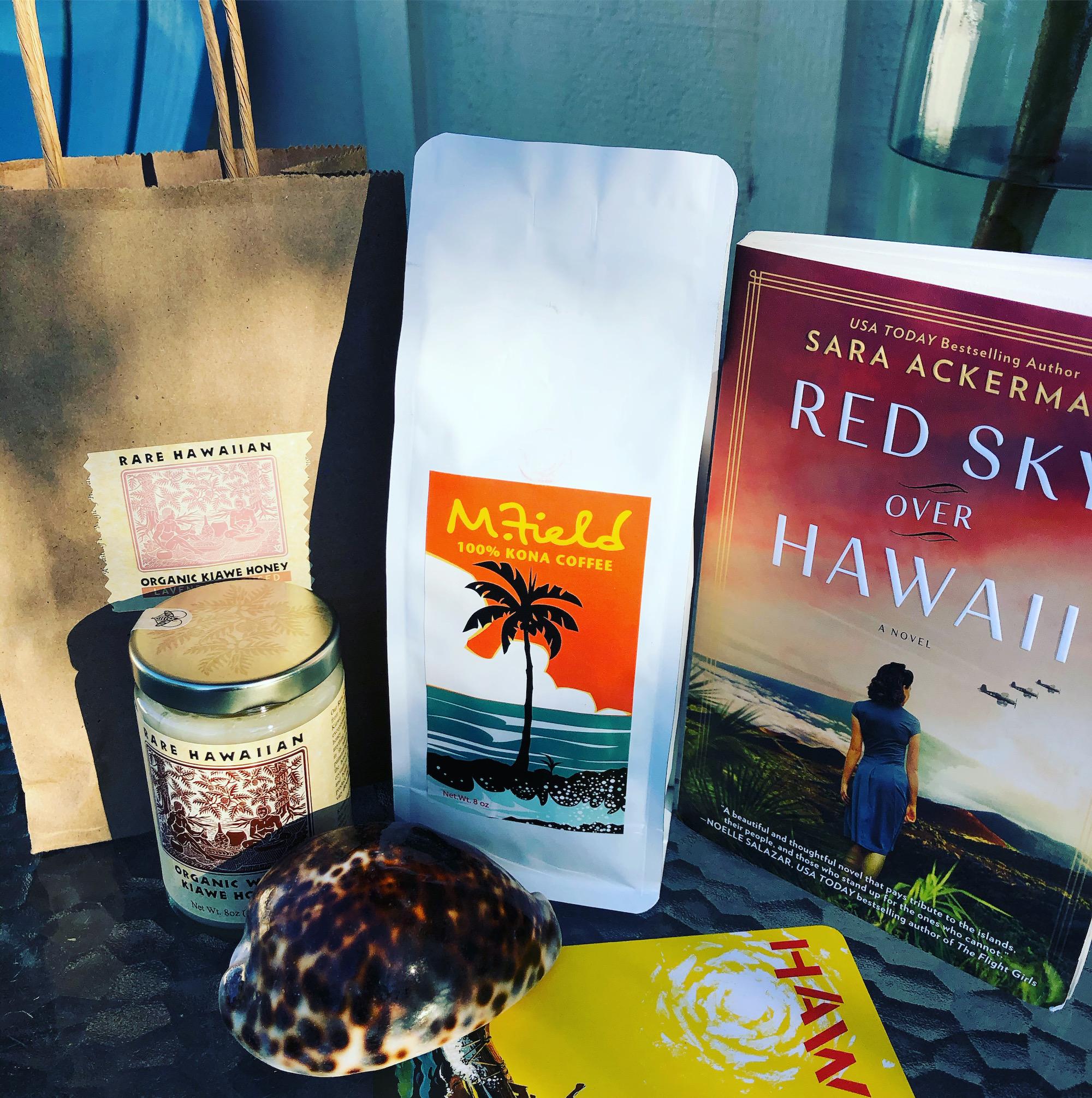 Red Sky Over Hawaii book by Sara Ackerman