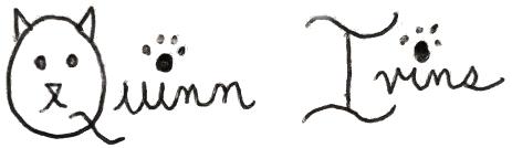 Quinn Ivins signature