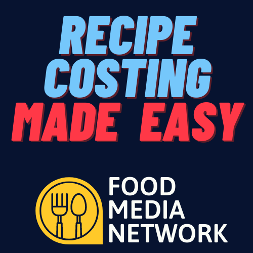Free Online Recipe Costing Mini-Course