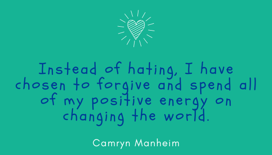 Quote of the month by Camryn Manheim