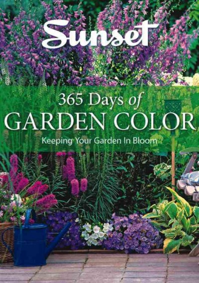 Book cover of 365 Days of Garden Color