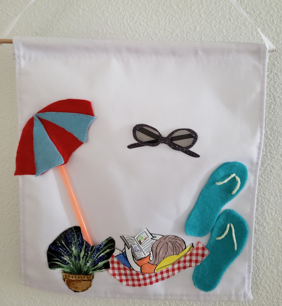 Spring banner craft