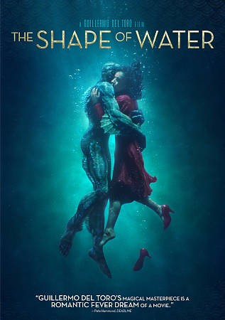 DVD cover of The Shape of Water