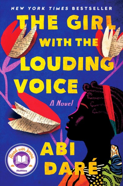 Book cover of The Girl with the Louding Voice by Abi Dare