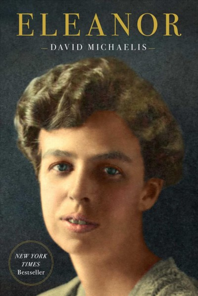 Book cover of Eleanor Roosevelt, featuring a photo of the former first lady