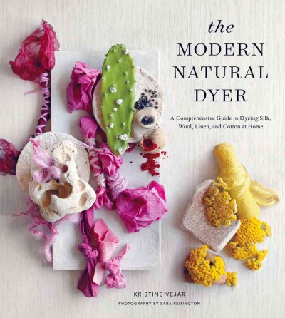 The Modern Natural Dyer book cover