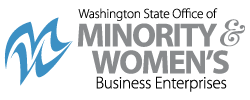 Washington State Office of Minority and Women's Business Enterprises Logo