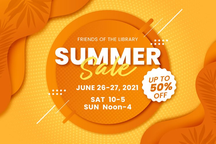 Friends of the Library Summer Book Sale