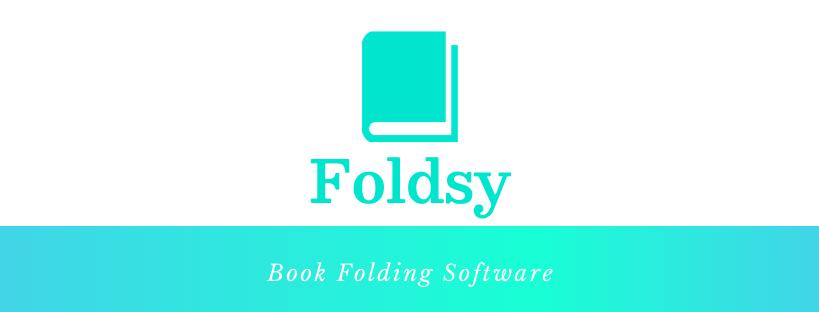 Foldsy Book Folding Software logo
