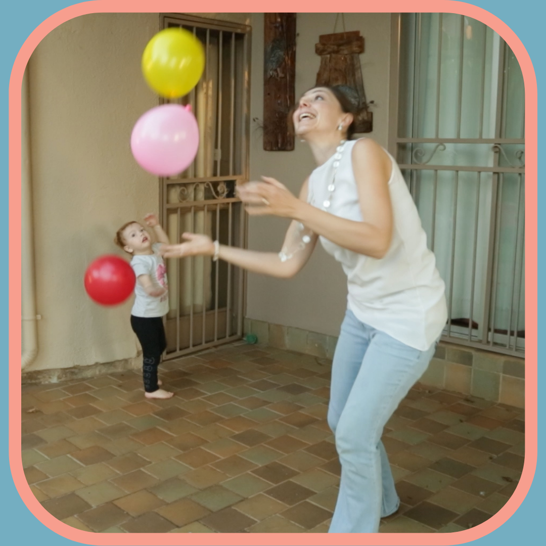 Balloon in the air