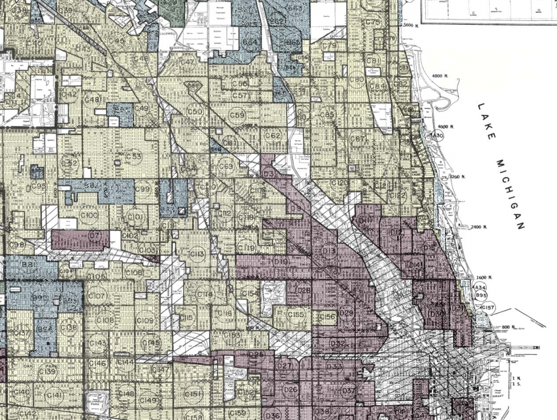 Map of Chicago - Mapping Inequity