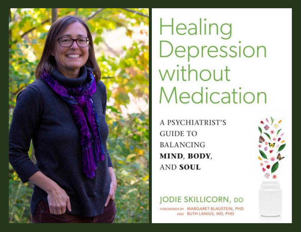 Jodie Skillicorn Healing Depression without Medication book