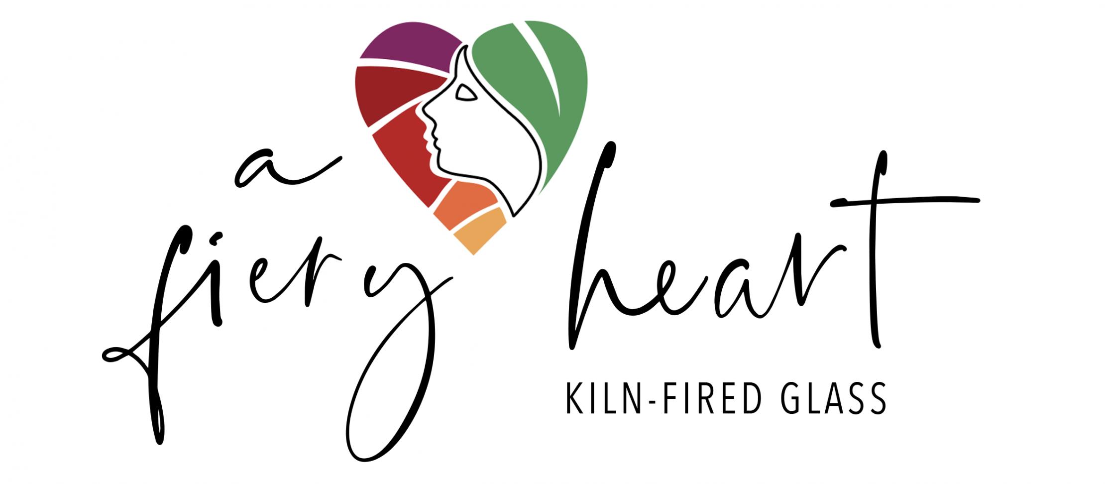 A Fiery Heart: Kiln-fired glass