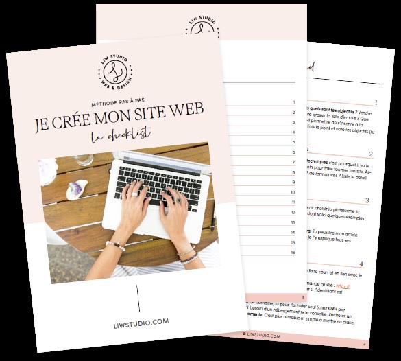 WordBook créer son site internet sans stress checklist téléchargement gratuit