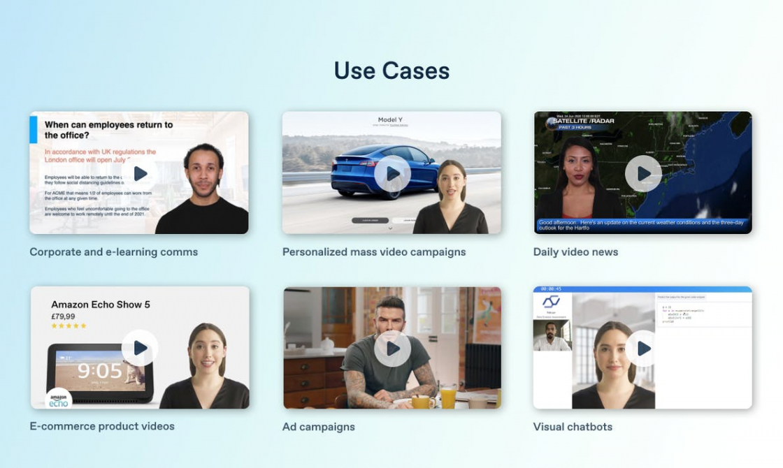 Use Cases for AI Video