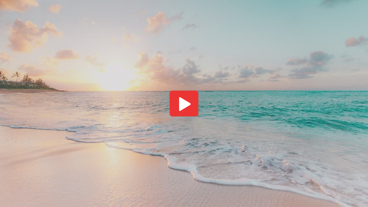 Image of a sunset on the beach.