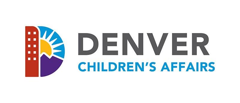 Denver Logo: Text - Denver Children's Affairs, Image: The letter