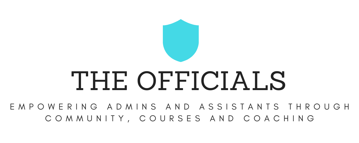 The Officials - For assistants by assistants