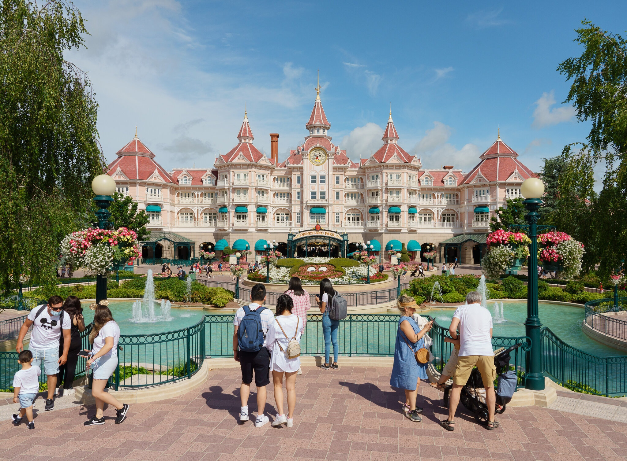 Disneyland Paris, Alex Crétey-Systermans for The New York Times