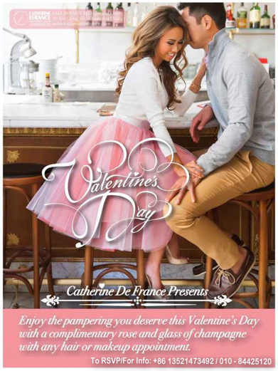 Your Valentines' Day with Catherine de France