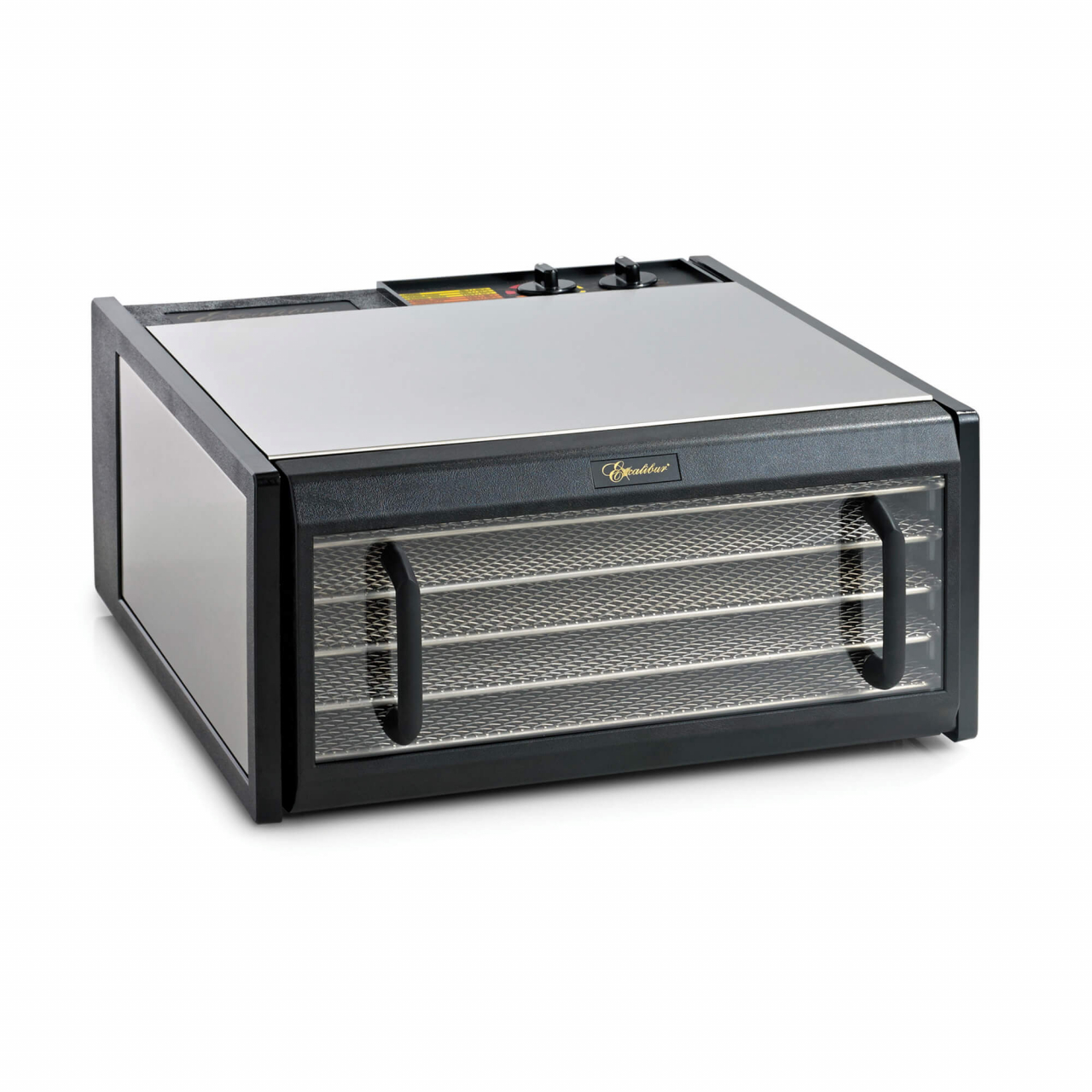 D502CDSHD Stainless Steel 5 Tray Excalibur Dehydrator